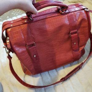Large Red Travel Bag